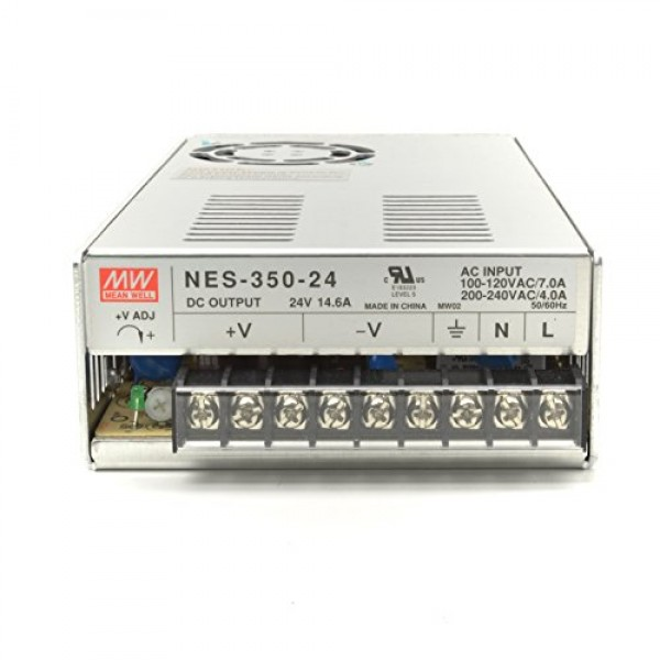 NES-350-24 350W 24V 14.6A UL listed Meanwell single output switch Power Supply