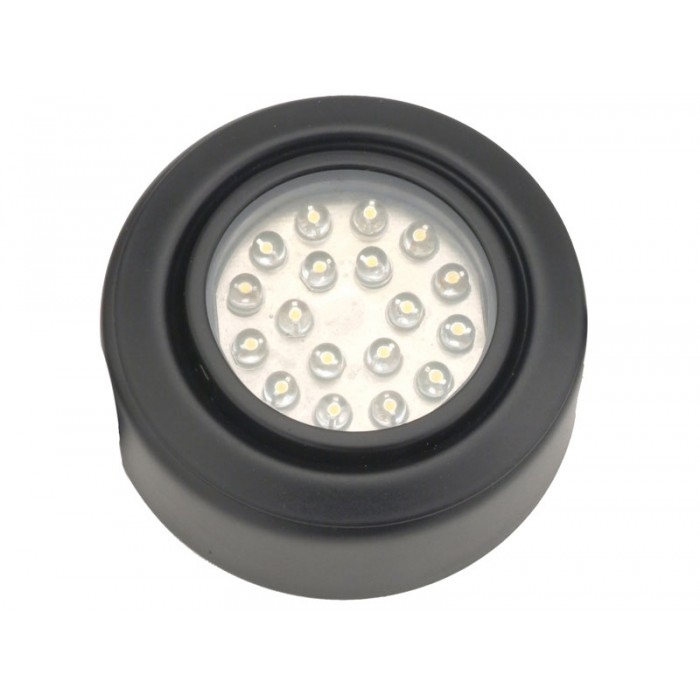 led 120v 1 5 watts dimmable puck light browse the widest selection of. Black Bedroom Furniture Sets. Home Design Ideas