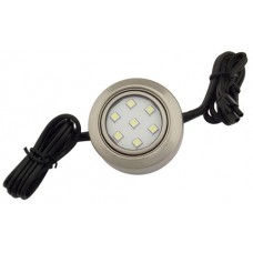 20 Watt Xenon Puck Light, 120V, Recess/Surface Mount
