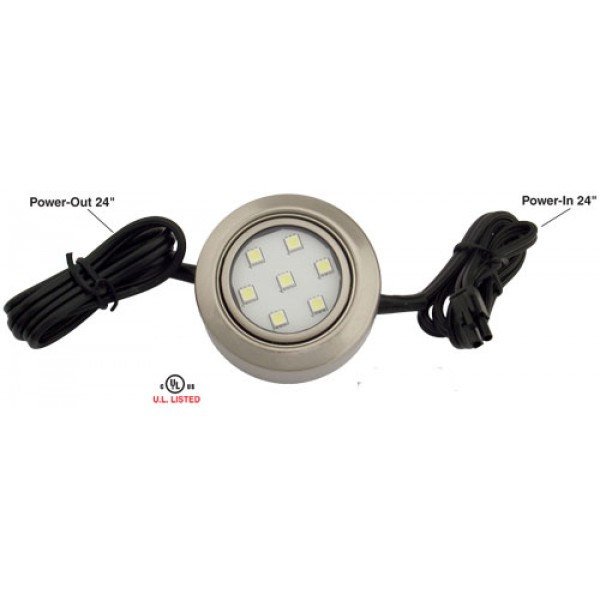 120V LED 1.4 W Super Bright Dimmable Puck Light 5.12003