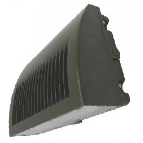 52-Watt Outdoor Bronze LED Wall Pack