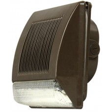 35-Watt Outdoor Bronze LED Wall Pack