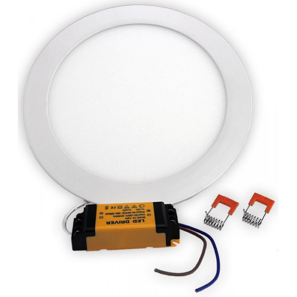 12W LED Dimmable Round Ceiling Panel Light Warm White NF-RPL-12W-WW-Dim