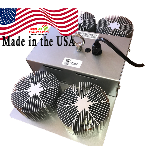 "160W LED Low/High Bay – SSBAY 4 ""Drone Design"" Made in the USA"