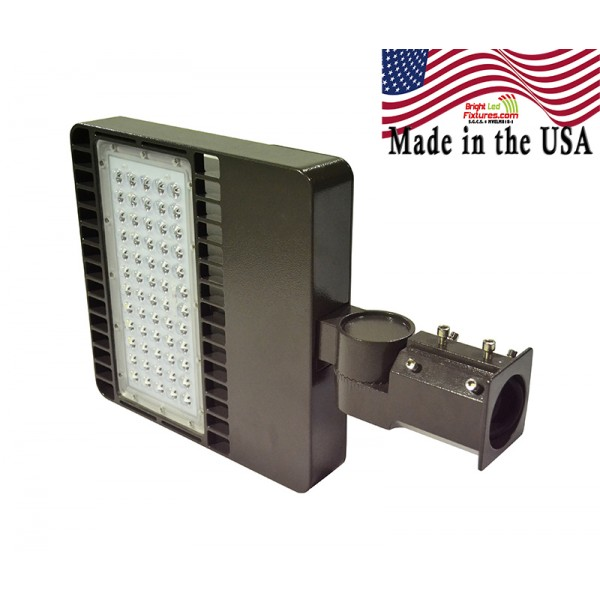 100 Watts 5000K LED High Output Shoebox Made in the USA