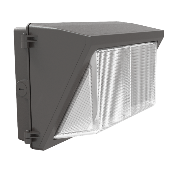 40-Watt Outdoor Bronze LED Wall Pack DLC 4.2 Wall Packs - AC90~305v